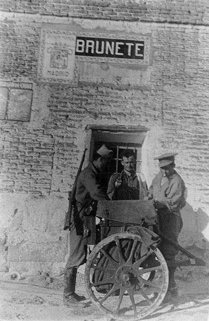 Spain - 1936. - GC - la battala de Brunete - gerda taro
