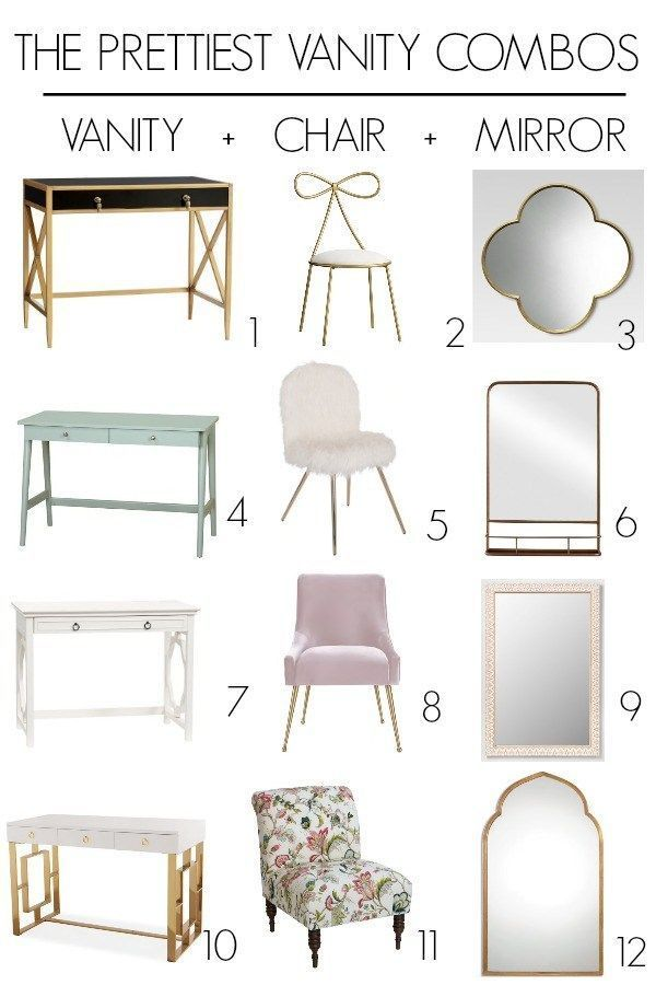 Master Bedroom Vanity And Chair The Prettiest Combinations Do You Need Ideas For A Cute Spot For Doing Your In 2020 Home Decor Bedroom Bedroom Vintage Bedroom Vanity