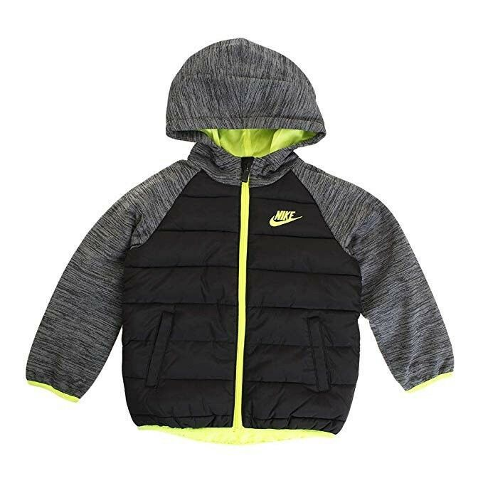 wholesale sales famous brand hot sale NWT Nike Baby Toddler Boys Quilted Hooded Jacket Coat 2T ...