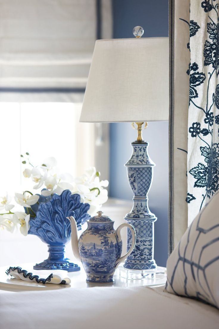 593 Best I Love Blue Images On Pinterest Antique Lamps