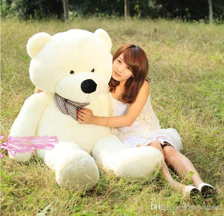 Wholesale Toys Buy 2014 Hot Sale New 6 FEET TEDDY BEAR STUFFED LIGHT BROWN GIANT JUMBO 72 Size:180cm Birthday Gift, $68.63 | DHgate