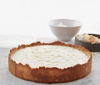 La recette de la tarte à la crème de coco