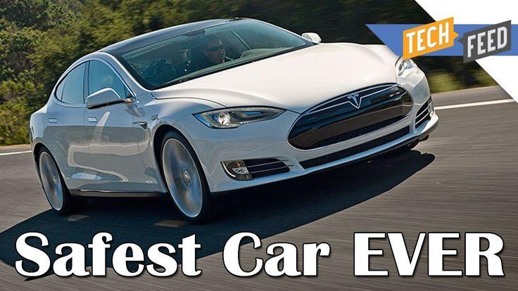 Tesla Model S - SAFEST CAR EVER MADE!