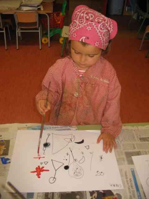 Plàstica - Joan Miró - proposta didàctica