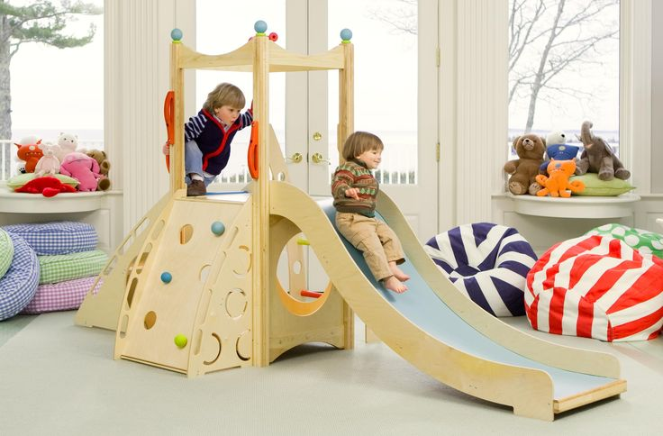 Indoor Playset 196 is from our popular line of indoor playsets, which features slides, climbers, ramps, firepoles, and more