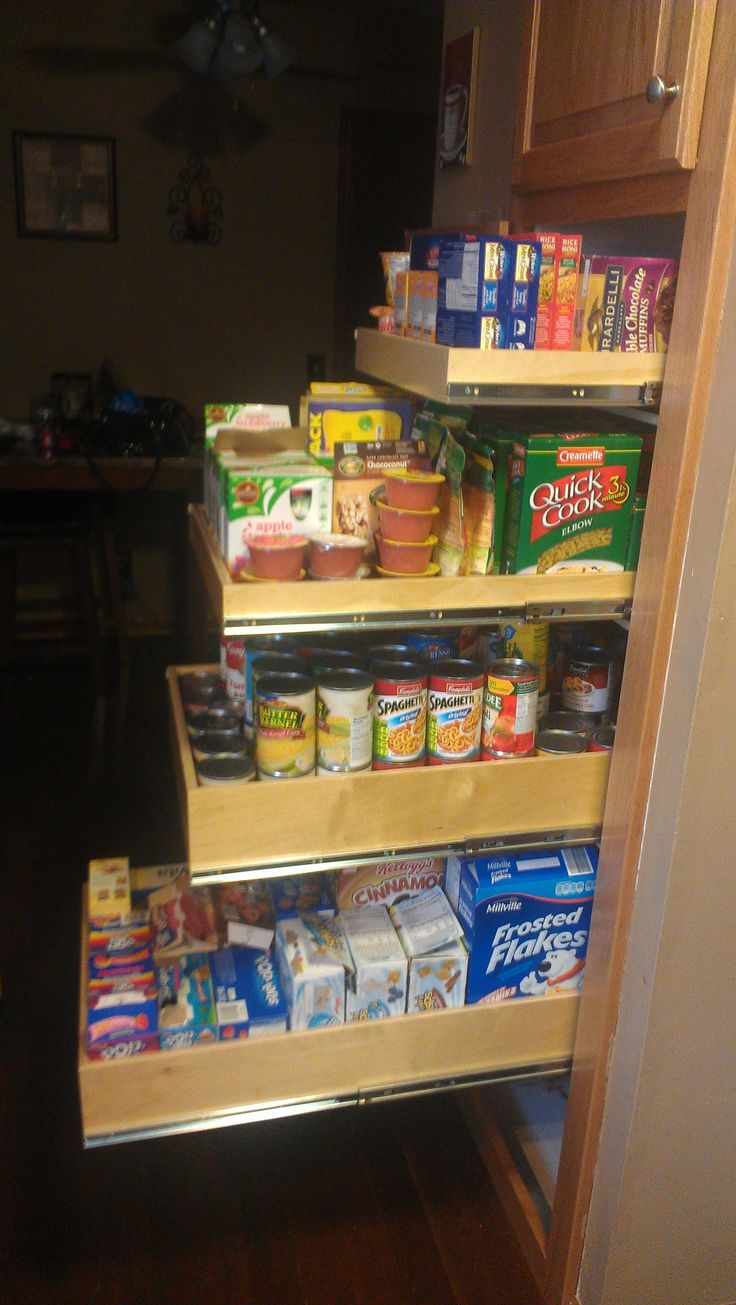 create lasting pantry with custom pantry pull out shelves from shelfgenie of oklahoma