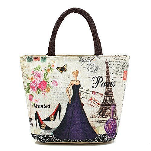 New Trending Tote Bags: WongSinTong Womens Beautiful Printed Canvas Small Tote Bag Handbag. WongSinTong Women's Beautiful Printed Canvas Small Tote Bag Handbag  Special Offer: $10.99  233 Reviews This small canvas bags with digital prints of pop elements, innovative designs and unique style, suitable for all ages,it is definitely your best choice.Size:Top Length...
