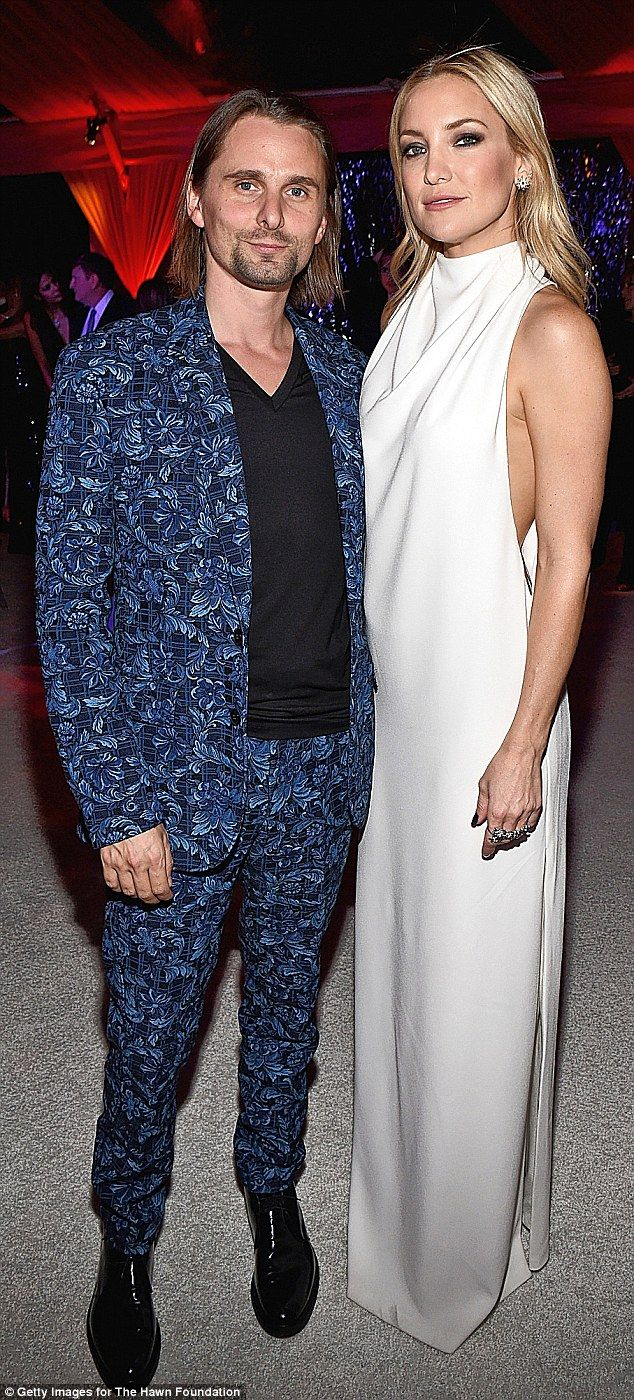 Keeping up appearances: The actress and the Muse frontman looked very much like a couple at Goldie Hawn's birthday and charity Love In For Kids Gala on November 21