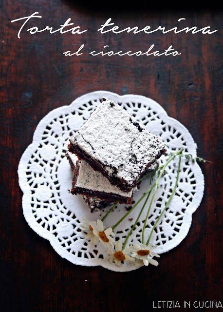 Letizia in Cucina: Torta tenerina al cioccolato