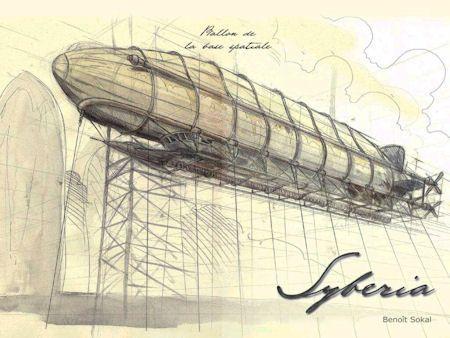 Syberia concept art, (c) Benoit Sokal.