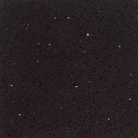 Silver Star Black Quartz