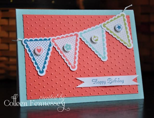 Pennant Parade Birthday Card