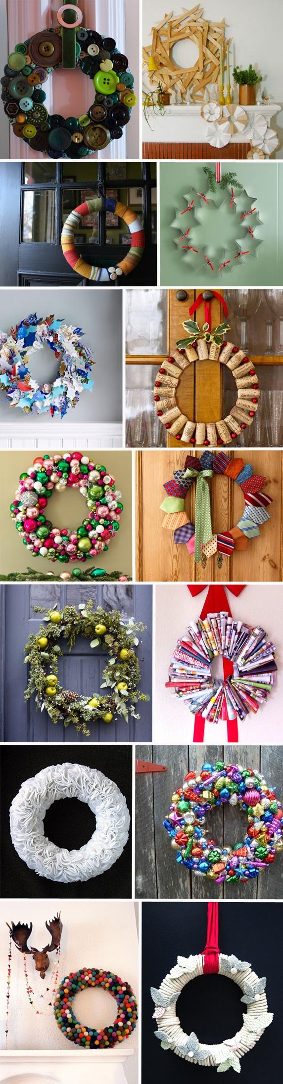 Des couronnes de Noël home made ! | Deco Décoration Design MyDz
