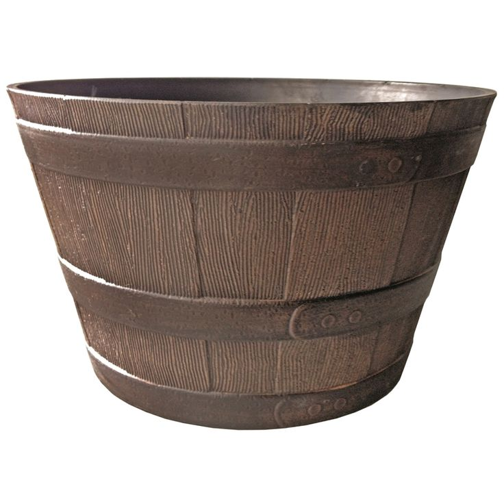 Northcote Pottery 57cm Kentucky Walnut Whiskey Barrel