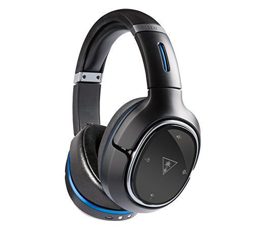 Turtle Beach Elite 800 Premium Wireless Surround Sound Noise Cancellation Gaming Headset for PS4 ProPS4PS3 Black -- You can find more details by visiting the image link.