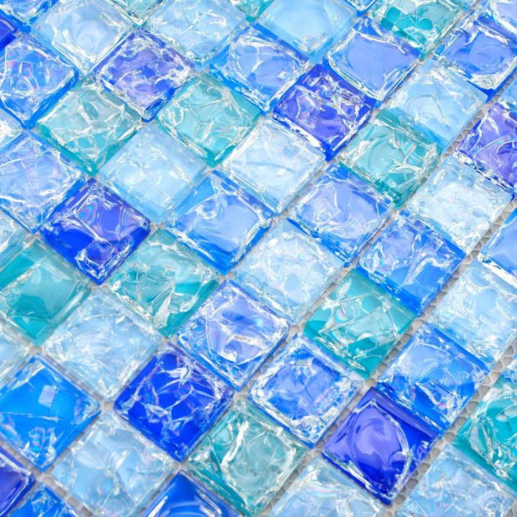 22 best images about back splash kitchen on pinterest for Blue crackle glass bathroom accessories