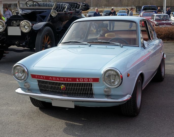 Abarth-Fiat 1000 Coupé #fiat #Abarth #cars #biler #carspotting