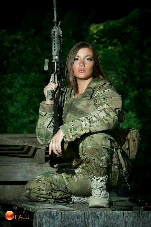 Military Women  Beautiful Military Women Of Israel -1452