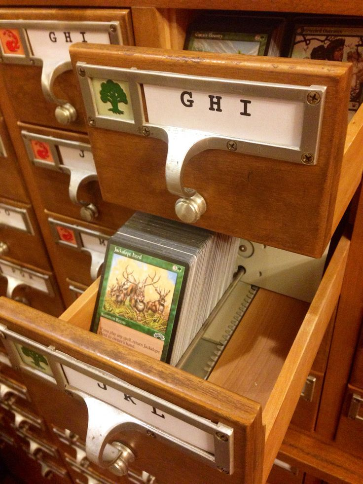 Magic: The Gathering Card Catalog by Brendaisbored
