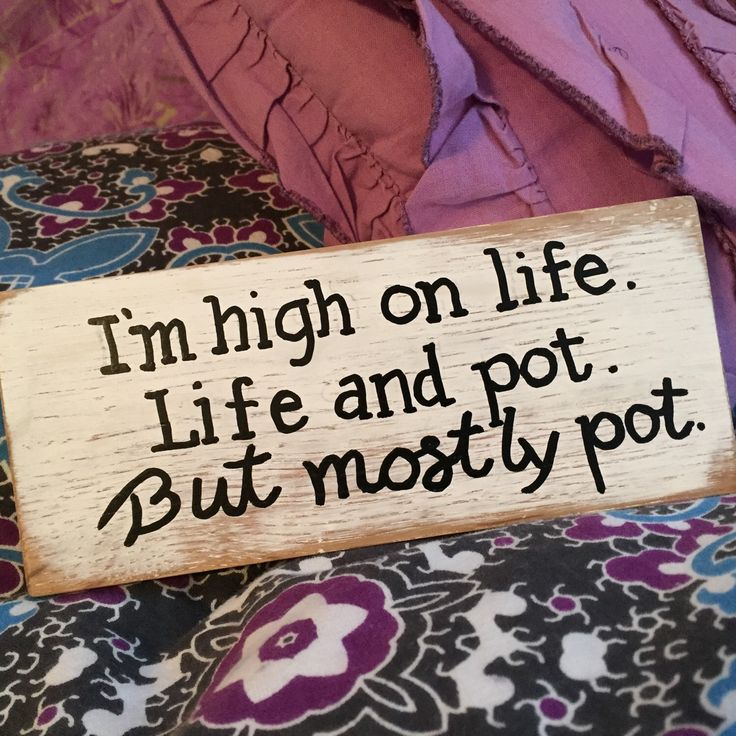 High On Life, Life And Pot, pothead gift, stoner gift, weed smokers, gifts for pot smokers, marijuana gifts, college kid gift, teenager gift by KissThisGirlfriend on Etsy https://www.etsy.com/listing/231299005/high-on-life-life-and-pot-pothead-gift