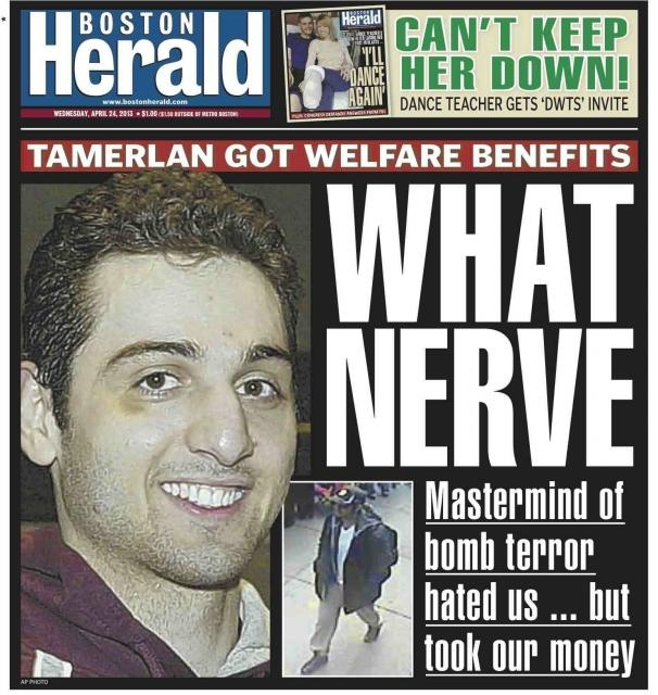 Tamerlan Tsarnaev and Family Received Welfare | The Weekly Standard