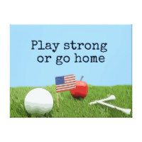 Golf Play strong or go home – Thaninee Media
