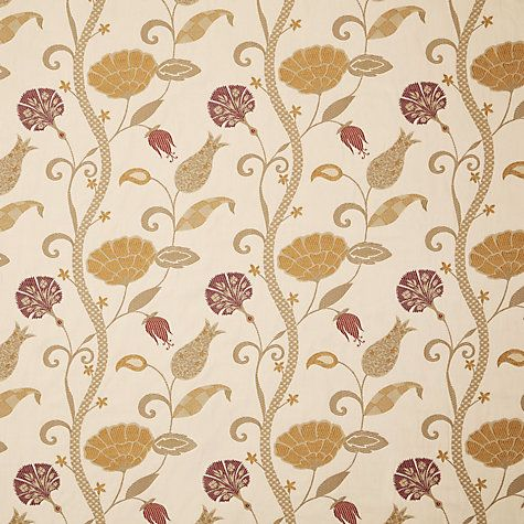 Buy Voyage Babylon Fabric, Small Ruby Online at johnlewis.com
