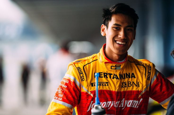 Sean Gelael - Indonesian racing driver. GP2 Pre-season testing. Circuito de Jerez - Spain, 29 - 31 March 2016. Team Jagonya Ayam Campos Racing. Credit to Gregory Heirman