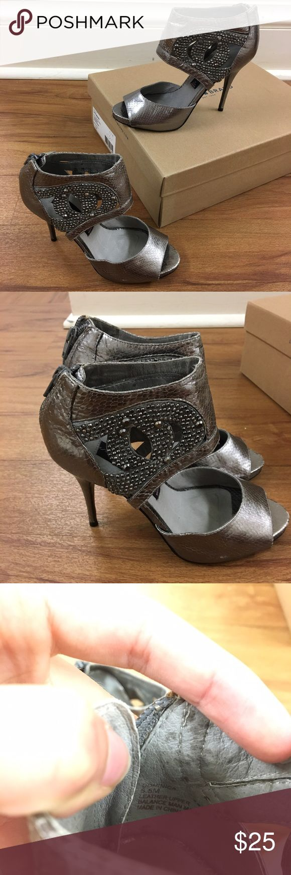 Steve Madden Dominica Heeled Booties These are stunning and sparkly size 5.5 Steve Madden heels! They are in great, used condition. They are the Dominica style and originally retailed for $160! This is an amazing deal! Add to a bundle for 20% off. Steven by Steve Madden Shoes Heels