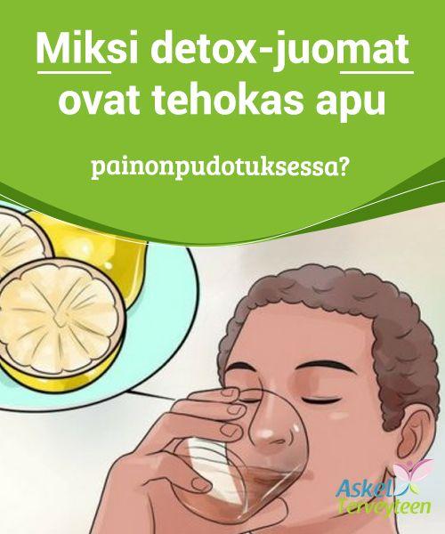 Miksi detox-juomat ovat tehokas apu painonpudotuksessa?  Detox-juomat toimivat #luonnollisina #nesteenpoistajina sekä nopeuttavat #aineenvaihduntaa.  #Terveellisetelämäntavat