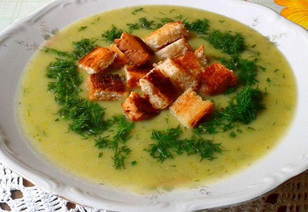 Swojska kuchnia: Zupa krem z ogórków zielonych
