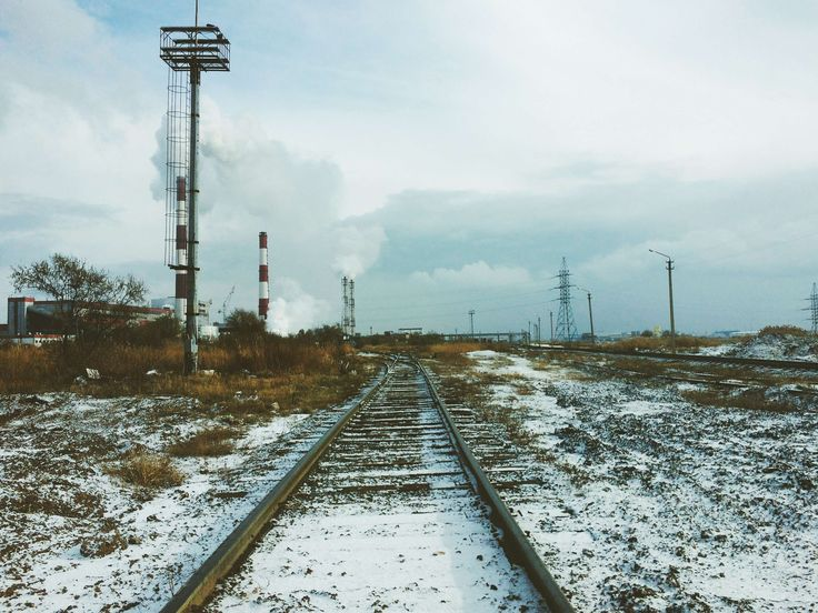 #electricity #energy #environment #industry #infrastructure #locomotive #outdoors #perspective #power #railroad #railroad track #railway #railway line #snow #station #steel #technology #track #t
