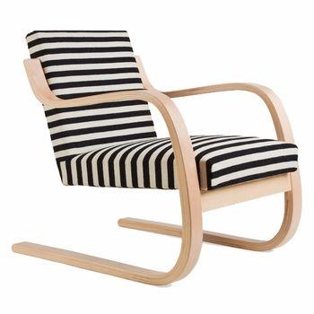 Statement Stripes. Artek Alvar Aalto 402  Armchair  - Your Own Materials
