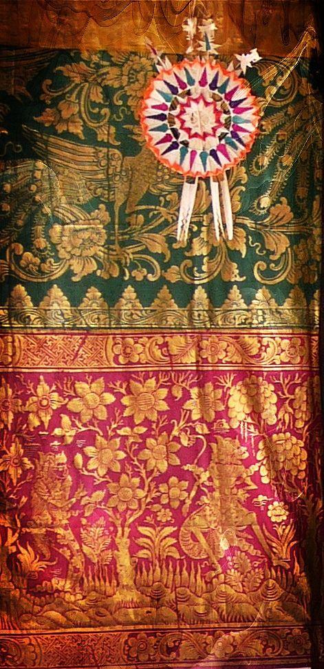 Balinese Perada Fabric AI 2014/15 Love Retrò collection