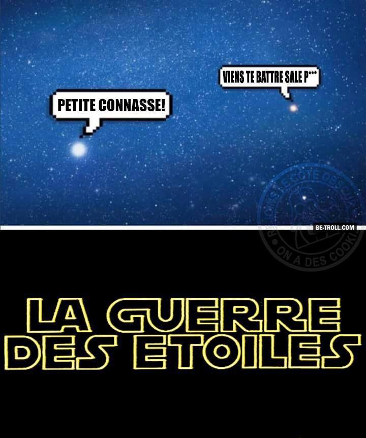 La guerre des étoiles : les origines... - Be-troll - vidéos humour, actualité…