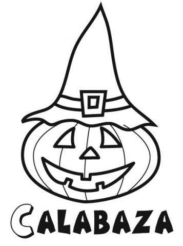 Imagen Infantil De Calabaza De Halloween Con Gorro Calabazas De Halloween Dibujo De Calabaza Haloween Dibujos