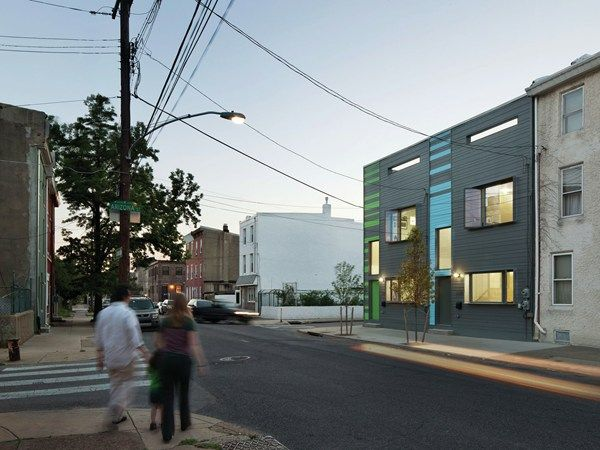 54 best good infill housing images on pinterest for Top philadelphia architecture firms