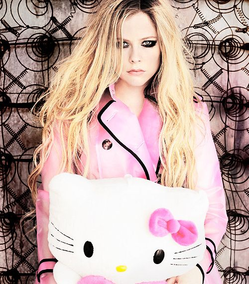 Avril Lavigne — hello kitty you're so pretty