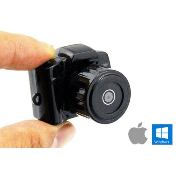 Ultra-Mini Digital Camera - 2.0 Megapixel Spy Cam with Video
