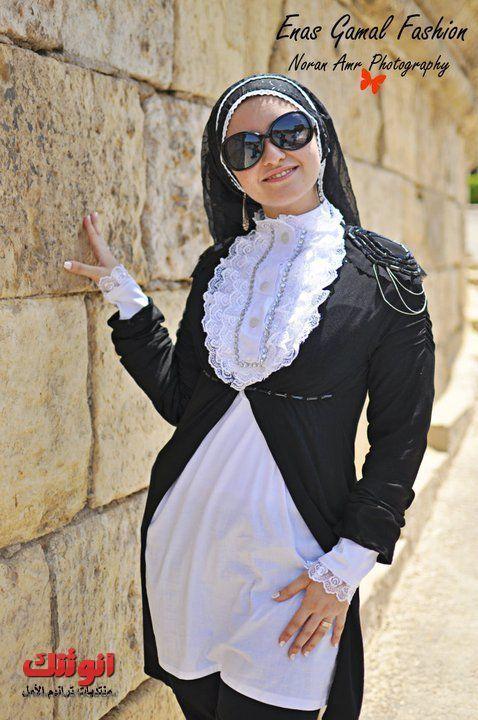 احدث موضه ملابس صيف للمحجبات 2014 لبنات انوثتك وبس