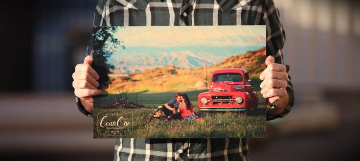 Awesome digital photo printing directly on wood!