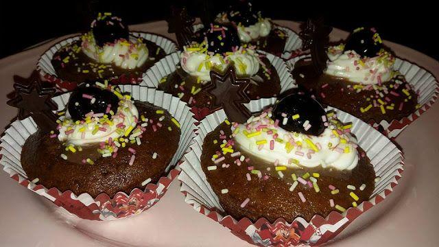 Pitadas De Açúcar...: Cupcakes De Chocolate