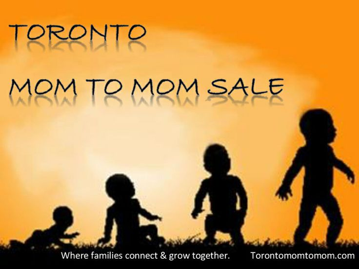 Toronto Mom-to-Mom sale - check out when it is in March