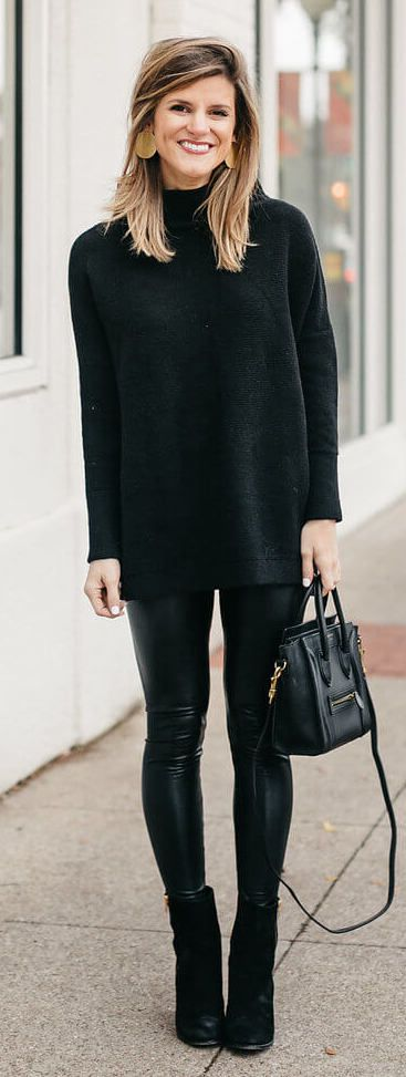Leggings Outfit Ideas for Thanksgiving. Read more at BTD.com!