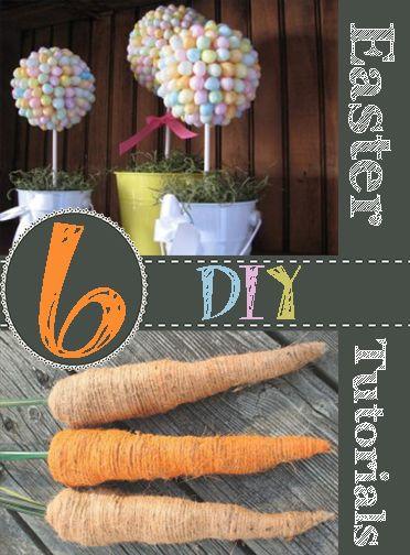 6 DIY Easter Tutorials