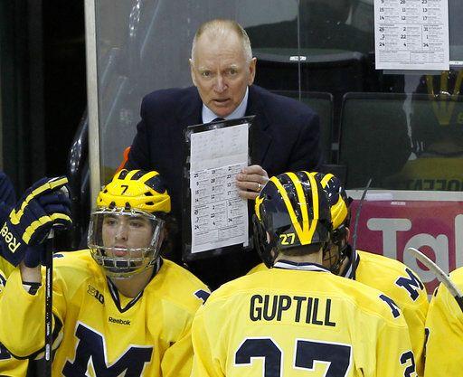 Michigan hockey coach Red Berenson retires after 33 seasons