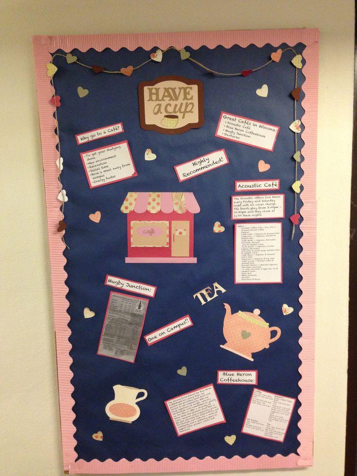 RA bulletin board, 2013