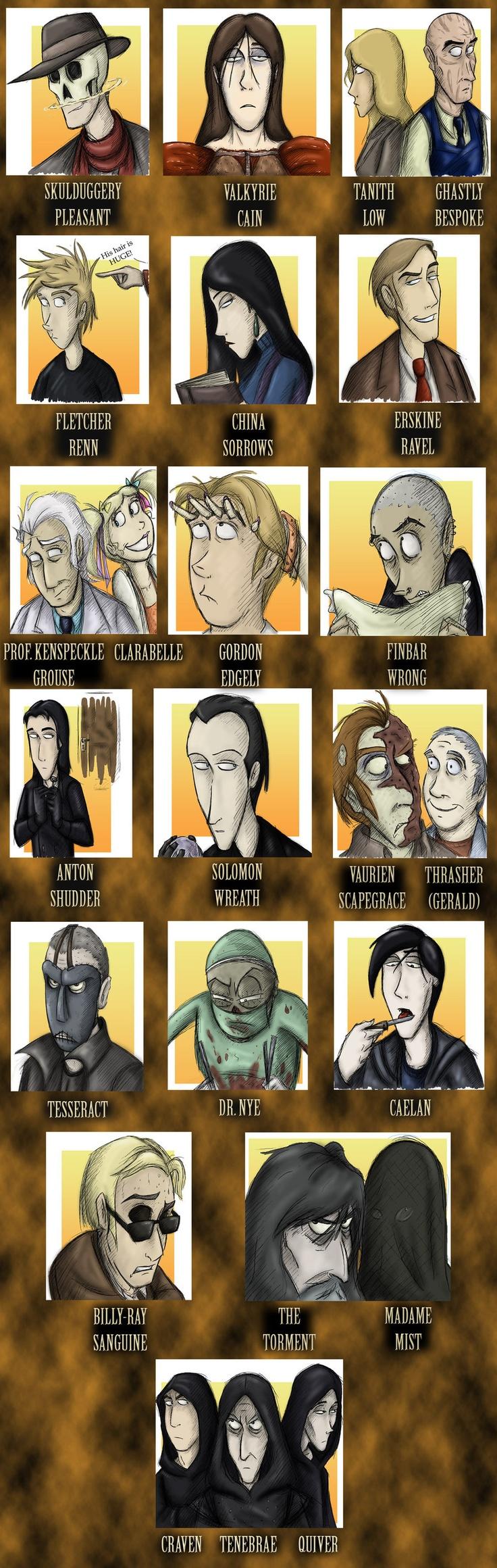 Skulduggery Pleasant book 5 cast of characters