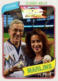 JOHNGY'S BEAT: Celebrity Jersey Cards #277 Claudia Wells & Antoni...
