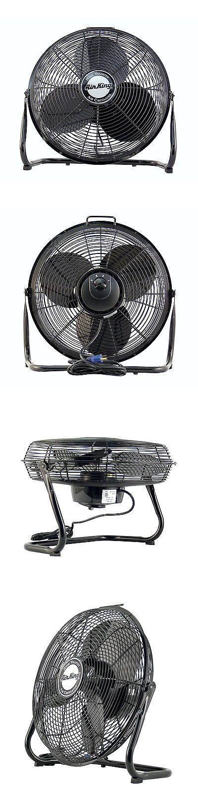 Portable Fans 20612: Air King 3 Speed 1 20 Hp 120 Volt 14 Inch Enclosed Pivoting Floor Fan   9214 -> BUY IT NOW ONLY: $79.99 on eBay!